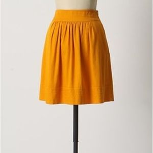 Odille Great Escape Cotton Circle Skirt w/ Pockets
